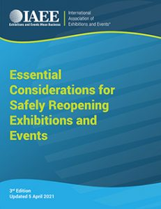 IAEE Updates White Paper on Safely Reopening Exhibitions
