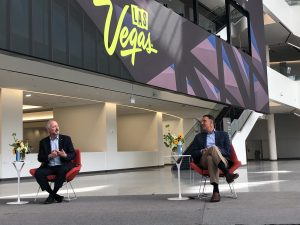 Steve Hill, Chief Executive Officer/President, Las Vegas Convention and Visitors Authority; Michael Massari, Chief Sales Officer, Caesars Entertainment